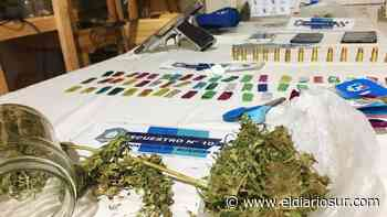 Tres dealers de droga fueron detenidos en Monte Grande - El Diario Sur