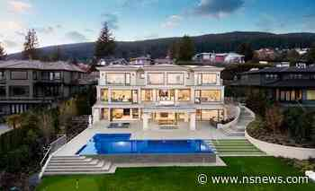 Check out the drone footage of this $16 million West Vancouver mansion - North Shore News