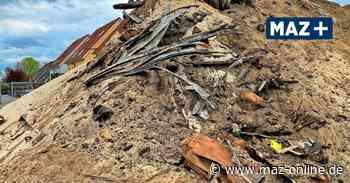 Stahnsdorf: Bauarbeiter finden 300 Kubikmeter Müll in Baugrube - Märkische Allgemeine Zeitung