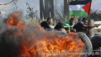 Heftige Zusammenstöße im Westjordanland