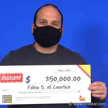 A $250000 birthday lotto win for Courtice man - Toronto Star