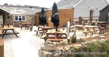Awesome new 'al fresco' bar at newly revamped Dartmoor pub - Plymouth Live