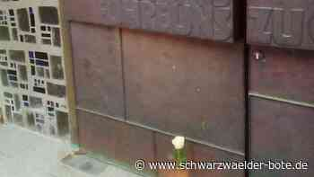 Schiltach - Aktion im Kinzigtal: 125 Kerzen und Rosen - Schwarzwälder Bote