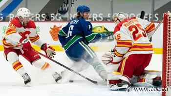 Flames, Canucks keep playing 'meaningless' games as Stanley Cup playoffs launch