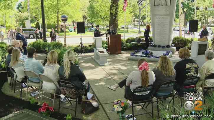 'He Loved His Officers': 2 Fallen Beaver Co. Police Chiefs Remembered For National Police Week