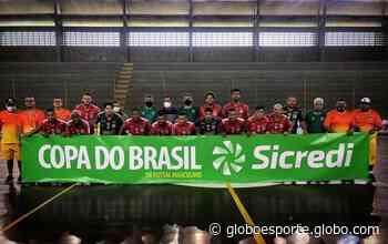 Na estreia na Copa do Brasil, Lagarto Futsal empata com Una City e decide vaga em casa - globoesporte.com