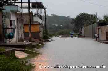 Barreira desliza e atinge muro de uma casa em Jardim Primavera, Camaragibe - Diário de Pernambuco