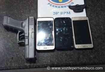 Dupla suspeita de roubo é detida em Camaragibe - Voz de Pernambuco
