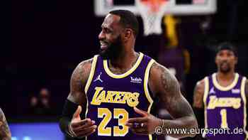 LeBron James: Spielerkarte von NBA-Superstar erzielt Rekorderlös bei Auktion - Eurosport DE
