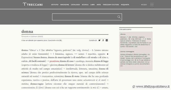 """La Treccani cancella i sinonimi offensivi della parola """"donna"""". La vittoria di 100 attiviste per un cambiamento culturale"""