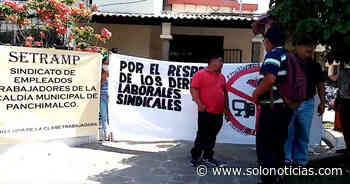 Trabajadores de la alcaldía de Panchimalco denuncian más de 40 despidos - Solo Noticias