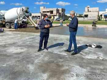Avellaneda: empezó la construcción de un nuevo playón en el barrio Padre Celso - Sin Mordaza