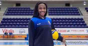 Ana Karina Olaya, la voleibolista colombiana del Porto - Win Sports