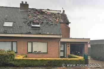 Nadat hels onweer twee huizen verwoest: bewoners moeten elders nacht doorbrengen