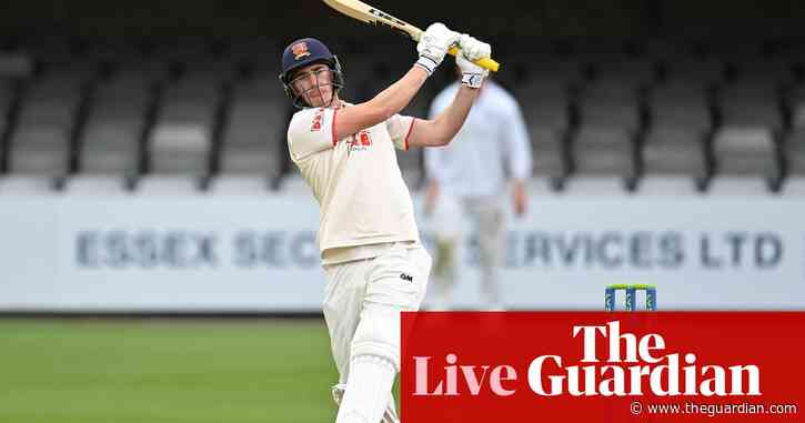 Dan Lawrence fireworks light up Chelmsford: county cricket – as it happened