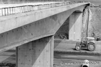 Vijftig jaar geleden: het eerste mager beton op de E40