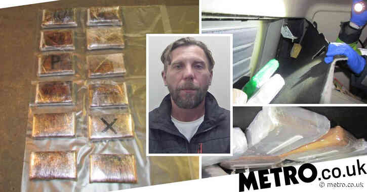 Lorry driver tried to smuggle £1,000,000 cocaine haul hidden around bunk bed