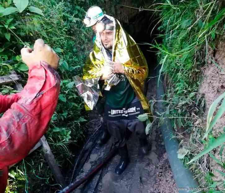 Rescatan con vida a cinco trabajadores en mina de Amagá, Antioquia - El Universal - Colombia