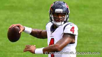 Texans have had no communications with the lawyers in the Deshaun Watson case