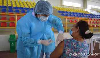 Centro de Vacunación Masiva inició trabajo en Magangué - Caracol Radio