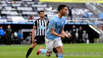 Premier League: Man City siegt auch als Meister: 4:3 bei Newcastle United