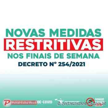 Santa Terezinha de Itaipu adota medidas restritivas nos finais de semana - Portal Costa Oeste