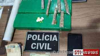 DENARC prende duas pessoas por tráfico em Santa Terezinha de Itaipu - Portal Costa Oeste