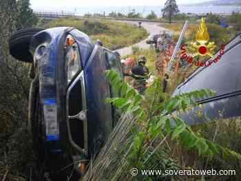 Incidente allo svincolo della SS106 a Pietragrande, due feriti - Soverato Web