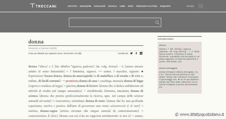 """La Treccani cancella termini offensivi associati alla parola """"donna"""". La vittoria di 100 attiviste"""