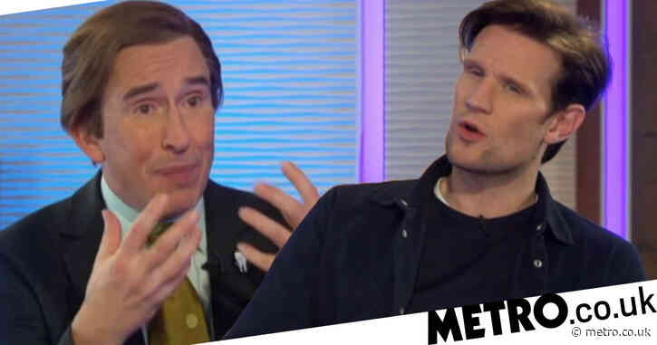 Matt Smith returns to TV for first time in four years as he makes surprise Alan Partridge appearance