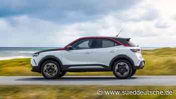 E-Auto im Test: Der Opel Mokka-e surft auf der Lifestyle-Welle - Süddeutsche Zeitung - SZ.de