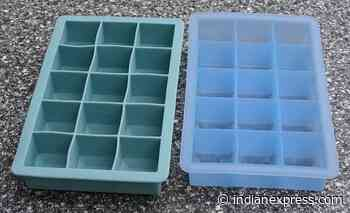 Chef shows how to fill ice cube tray correctly without spilling water - The Indian Express
