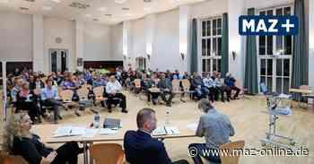 Wustermark: Vorerst keine Live-Übertragung der Sitzungen - Märkische Allgemeine Zeitung