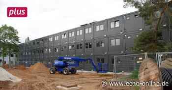 Griesheim Neue Container-Schule in Griesheim steht - Echo Online