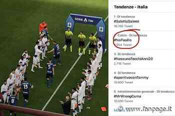 I tifosi della Juve lanciano #NoPasillo contro la passerella per l'Inter campione - Sport Fanpage