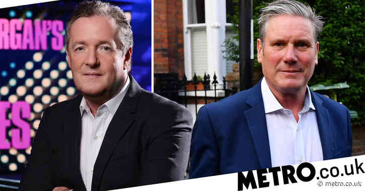 Piers Morgan to return to ITV after GMB exit with Sir Keir Starmer on Life Stories