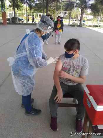 Operativo de vacunación infantil en Buena Vista - Agenfor