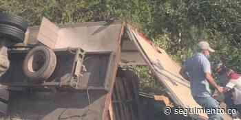 Saquean camión cargado de papas en Puebloviejo - Seguimiento.co