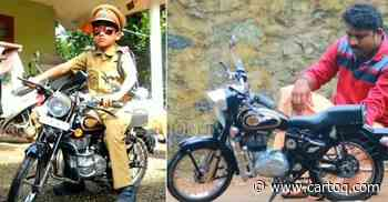 Dad builds 'mini' Royal Enfield Bullet electric for son - CarToq.com