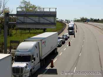 Driver seriously injured after two collisions on Highway 401 - Belleville Intelligencer