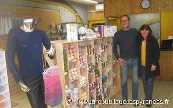 Nay : une enseigne de laines à tricoter - La République des Pyrénées
