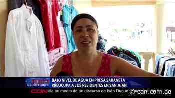Bajo nivel de agua en presa Sabaneta preocupa a los residentes en San Juan - CDN