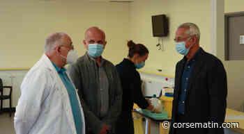 """Corte : """"La vaccination est ouverte aux adultes, dès 18 ans"""" - Corse-Matin"""