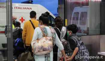 Volo dall'India atterrato a Bergamo: una donna positiva ricoverata con il casco C-pap - Prima Pavia