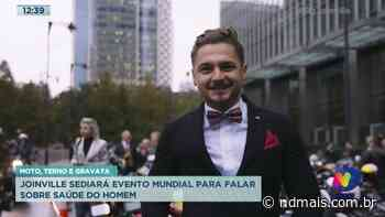 Moto, terno e gravata: Joinville sediará evento mundial para falar sobre saúde do homem - ND