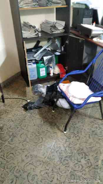 Desconocidos roban en puesto sanitario de IPS de Acahay - Nacionales - ABC Color