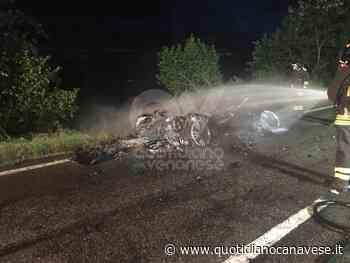 CASELLE-LEINI - Auto prende fuoco durante la marcia: conducente in salvo - QC QuotidianoCanavese