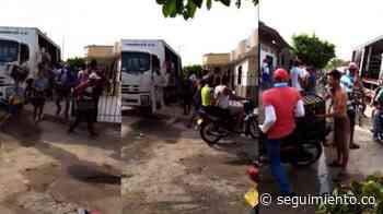 Saquean camión cargado de cervezas en Sabanalarga, Atlántico - Seguimiento.co