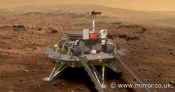 China lands on Mars after spacecraft's final 'nine minutes of terror' on arrival