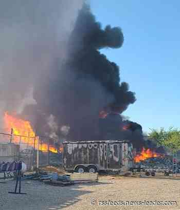 State, federal agencies investigate fire at Marshfield propane tank plant